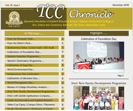 TCC Chronicle December 2018